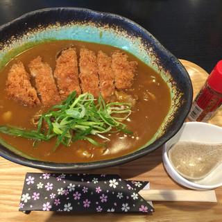 三和 - 料理写真:カツカレーうどん