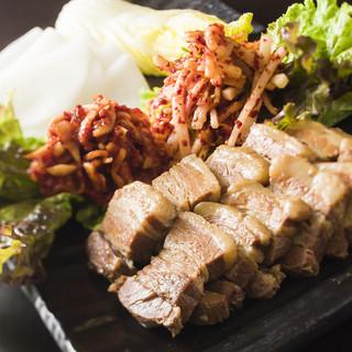 自然と笑顔が溢れる豚肉料理