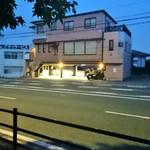 七隈園 - お店外観。朝方だから閉まってます^^;