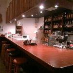 bar T-true - カウンター