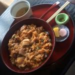 南ばら亭 - 阿波尾鶏親子丼 ¥1,500