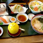 さざん亭 - 料理写真:レディースセット