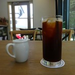 カフェ エバーグリーン - ロングブラックアイスコーヒー