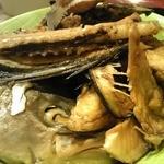 なぶら - 魚のアラ煮 超大盛り