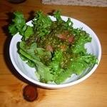 洋食屋くく - サラダ バジルのドレッシング
