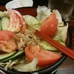 竹泉 - ツナサラダ。