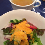 シンケンファクトリー - サラダとスープ
