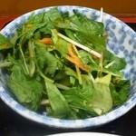 40198758 - 麻婆豆腐定食のサラダ