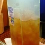 食堂四川一よし - 麦茶