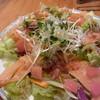 ミジンコ食堂 - 料理写真:サーモンのカルパッチョ