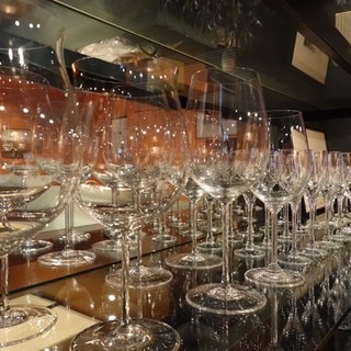 【常備70種類】豊富なワインの品揃え