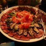 ハイアット リージェンシー 福岡 レストラン ル・カフェ - ナスとローストビーフ