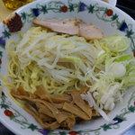 九州GTラーメン - 油ソバ 大盛りサービス (¥550-)