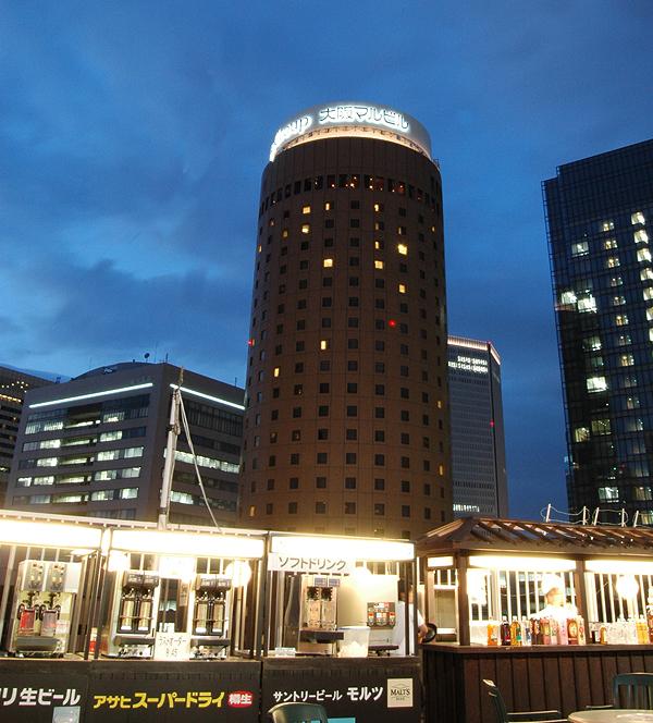 大阪駅前第一ビル 神仙閣ビアガーデン