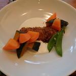 菜食 左ェ門 - 銀鮭のハーブパン粉焼き