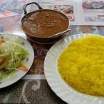 インド・ネパール料理 シャマーマハル - ランチBコースマトンカレー