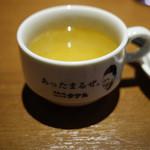 1ポンドのステーキハンバーグ タケル - スープ~☆