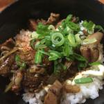 尾道らーめん 十八番 - チャマヨ丼