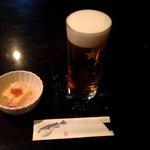 てしごとや - 生ビール