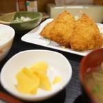 串鳥 - アジフライ定食