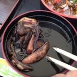 読谷村漁業協同組合 海人食堂 - いかすみ汁