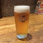 らあめん花月嵐 - ビール