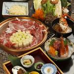 東尋坊 - 魯山人の愛したすきやき 7700円