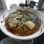 とんがりかん - 和風ラーメン_醤油味(775円)_2015-07-03