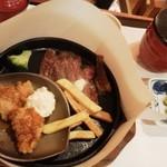 がんこ - ランチ ステーキセット