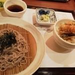 がんこ - ランチ ザル蕎麦とミニ天丼
