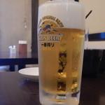 ひろ武 - 生ビール中ジョッキ