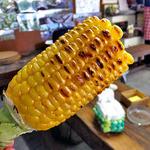 清水屋 - 炭火焼トウモロコシ(2015年7月)