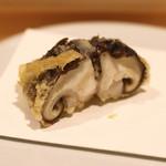 天冨良 いわ井 - 椎茸の海老詰め (2015/07)