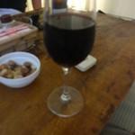 ゴホウビ - 赤ワイン♪ー酔っているのでブレてます(^_^)ー