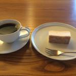 40216856 - 葦島ブレンドと、チーズケーキ(プレーン)
