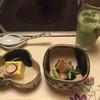 Umenohana - 料理写真:とうもろこし豆腐←(美味しい!)と、穴子の何やら