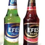 """AKDENIZ - トルコビール""""エフェス""""で『シェレフェ~(乾杯)』"""