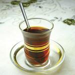 """AKDENIZ - トルコのお茶""""チャイ""""はお砂糖を入れて飲みます。"""