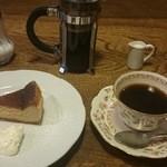 熊谷珈琲 - 何度お邪魔しても食べられなかったチーズケーキに今日ようやく逢えました!