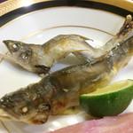 割烹 たけし - 鮎塩焼き