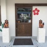 琉球焼肉なかま - かわいいシーサーがお出迎えしてくれました!