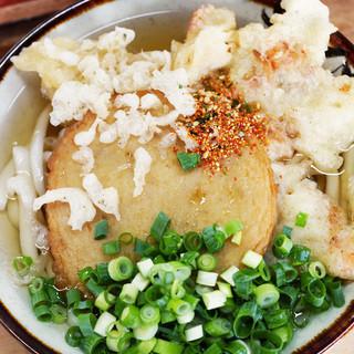 立食いうどん - 料理写真:えび天+丸天