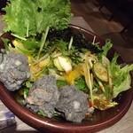 yakinikuiwa - 岩サラダ
