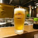 串揚げ処 味串 - 追加生ビール♪