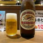 串揚げ処 味串 - 追加瓶ビール♪