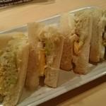 なおらい - 夜の部店内だけ限定の卵サンド