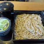北海道そば 幻庵 - 料理写真:もりそば(600円) _2015-07-09