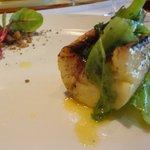 レストラン マノワ - 魚(断面)(2015.7)