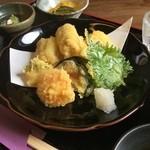 あなご天ぷら定食