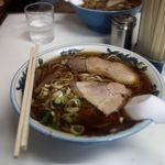 三日月軒 - 中華そば(中)・・・酒田のラーメンは麺が多いですね・・・